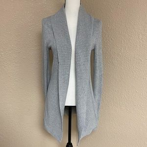 4/$10 Gap long gray cardigan sweater